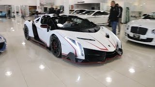 The $4.5 Million LAMBORGHINI VENENO(s)