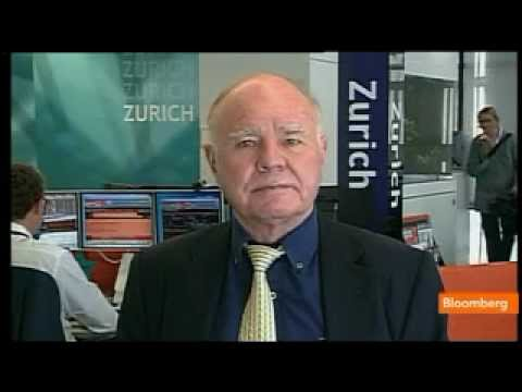 Marc Faber on U.S. Equities, Economy, Euro Zone