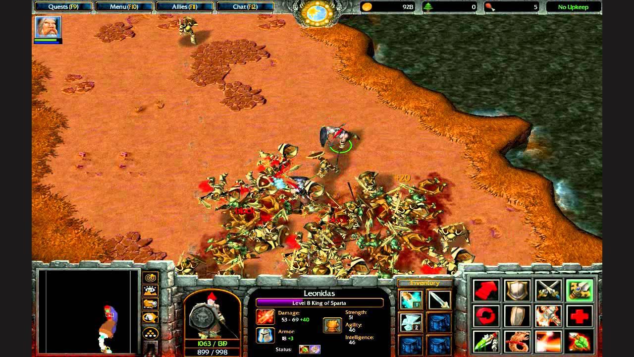 Warcraft - защити дом от пидорасов v14