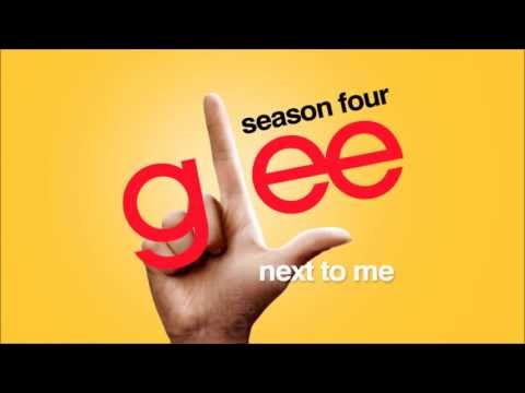 Next To Me - Glee [HD Full Studio]