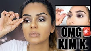 Ich schminke Kim Kardashians VOGUE Tutorial I KIM K Holiday GLAM Tutorial ! Tamtam Beauty
