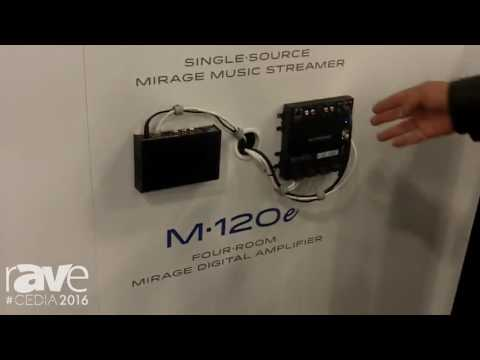 CEDIA 2016: Autonomic Demos MMS 1e and M-120E Adding Audio Over Ethernet Capabilities