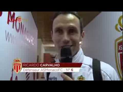 Funny sequence between Ricardo Carvalho and Claudio Ranieri