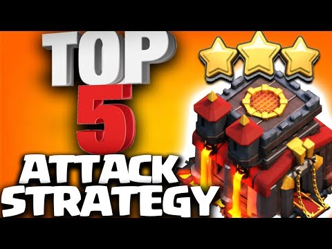Top 5 BEST TH10 ATTACK STRATEGY 2017 in Clash of Clans | DO YOU USE THESE?