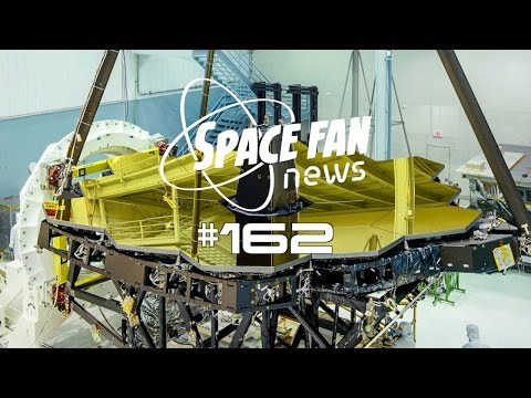 SFN #162: #JWST Mirrors Uncovered; K2 is Back to Science; Where are #HubbleHangouts?