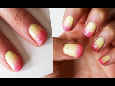 Ombre nails tutorial ♡