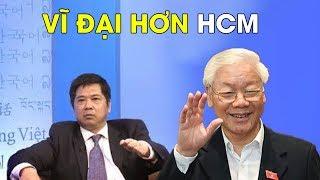 Tiến sĩ luật Cù Huy Hà Vũ khen Nguyễn Phú Trọng là một chủ tịch nước vĩ đại #VoteTv