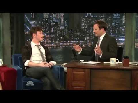 Late Night with Jimmy Fallon 2010 06 07 Chris Colfer Clip