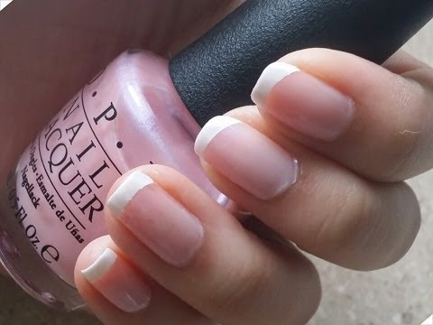 Perfect French Manicure Tutorial