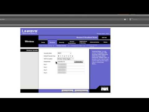 Configuracion y seguridad para un router linksys