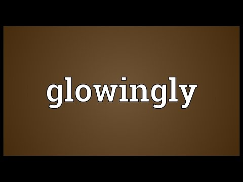 Header of glowingly