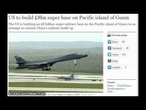 US to build £8bn super base on Pacific island of Guam May 27,2013,