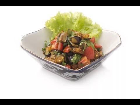 Салат из сырых баклажанов, цуккини, болгарского перца / Илья Лазерсон / Кулинарный ликбез