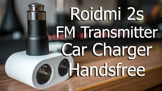 Roidmi 2s Review FM Transmitter | Car Charger