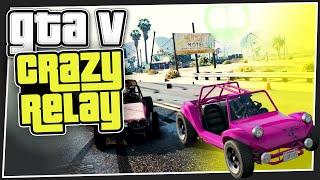 GTA 5 Online - Crazy Relay (Custom Games)