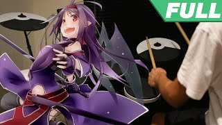 Sword Art Online II OP 2 Full -【Courage】by Haruka Tomatsu - Drum Cover
