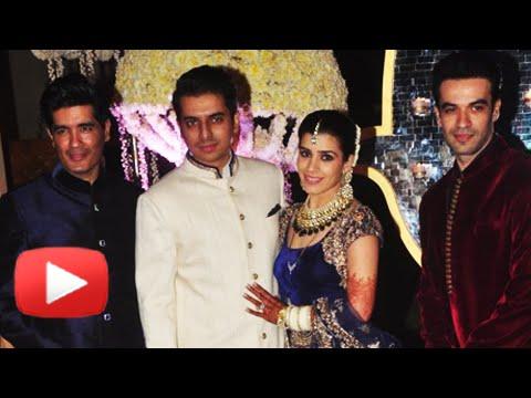 Priyanka Chopra, Madhuri Dixit & Sridevi : Manish Malhotra's Niece's Wedding Reception