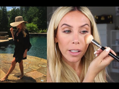 Get Beach/Pool Ready With Me! Makeup, Body, and Fashion
