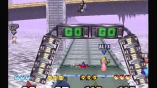 Super Smash Bros. Melee - Multiplayer Gameplay #2