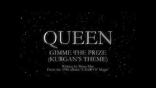 Watch Queen Gimme The Prize video