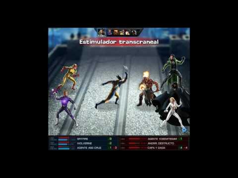 Marvel Avengers Alliance / Wolverine Iso-8 potenciado tranquilizante