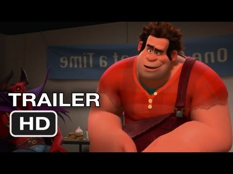 Wreck-It Ralph Official Trailer #1 (2012) Disney Animated Movie HD