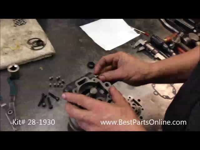 Land Rover Discovery II 2 Power Steering Pump Rebuild ...