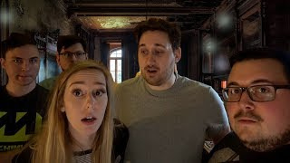 24 HOURS OVERNIGHT IN THE WORLDS MOST HAUNTED HOTEL!!