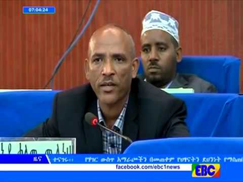 Ethiopian Amharic 1PM News from EBC November 23, 2016