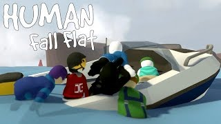 Human Fall Flat - I Think We're Sinking... [ONLINE]
