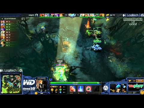Na`Vi vs Liquid - Game 1 (WePlay.TV - Playoffs)
