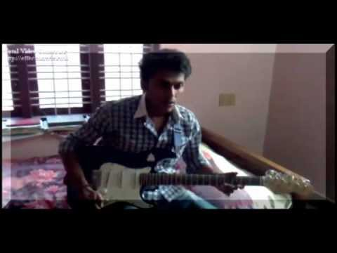 Vaarayo Vaarayo(aadhavan) Guitar Zolo By Anoop Unnikrishnan video