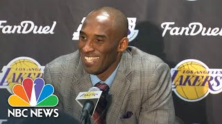 Watch Kobe Bryant Speak Spanish, Italian, And Chinese At Press Conferences | NBC News