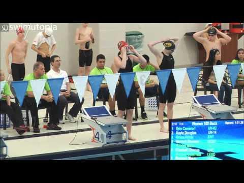 Women's 100 Meter Backstroke A Final
