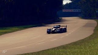 GT Sport - Audi R18 hotlap at Le Mans (3:18.760)