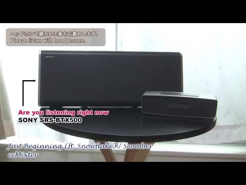 SONY SRS-BTX500 vs BOSE SOUNDLINK MINI 聞き比べ Re-edited version