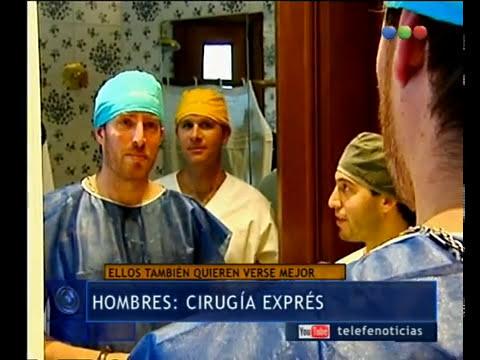 Cirugías exprés, también un tema de hombres - Telefe Noticias