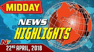 Mid Day News Highlights || 22-04-2018