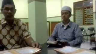 Bacaan Imam Ashim, Riwayat Imam Hafs, Thoriq Asy syathibiyah, Irama Nahawan Persia, Suara Jawab.
