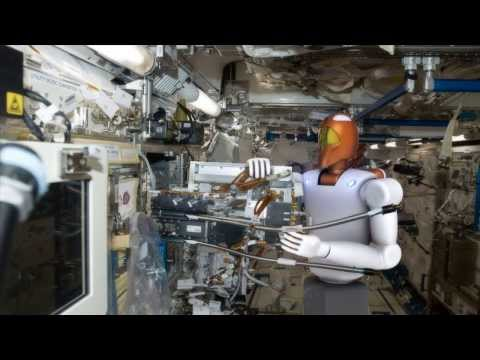 Space Station Live: Robonaut, the Humanoid Robot