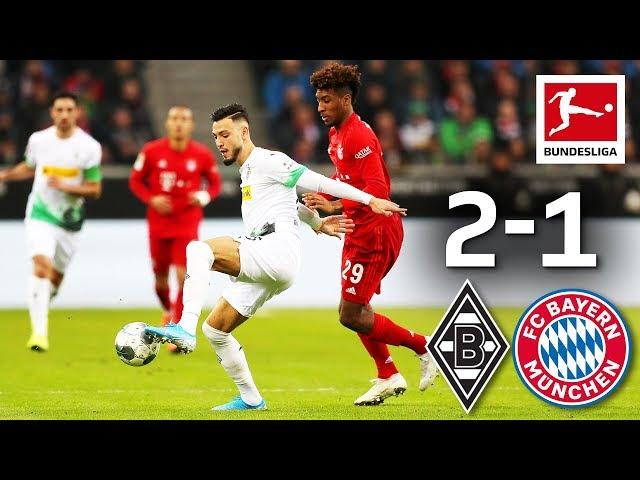 Last-Minute Drama in Top Clash I Borussia MГnchengladbach vs. FC Bayern MГnchen I 2-1 I Highlights