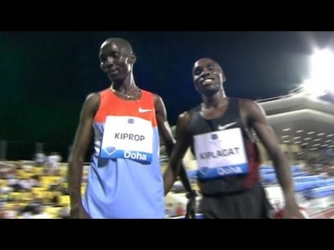 Kiplagat pulls the shake N&#039; bake on Kiprop-A Standard by Russell Brown