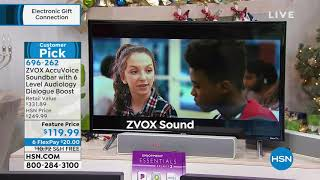 ZVOX AV155 AccuVoice Soundbar w/6Level Dialogue Boost   ...