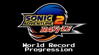 World Record Progression: Sonic Adventure 2 Battle