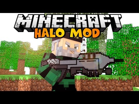 Minecraft: HALO EN MINECRAFT | HALO Mod Review