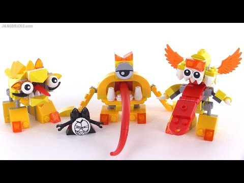 LEGO Mixels Series 5 review - LIXERS! Spugg. Turg. & Tungster!
