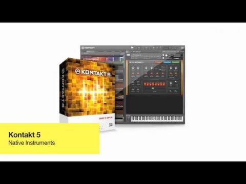 NI's Komplete 8: Kontakt 5 + Maschine Tutorial - Filters, Effects, Timestretching +