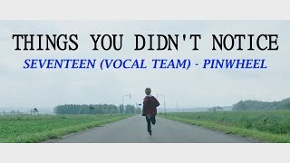THINGS YOU DIDN'T NOTICE: SVT (Vocal Team) - Pinwheel