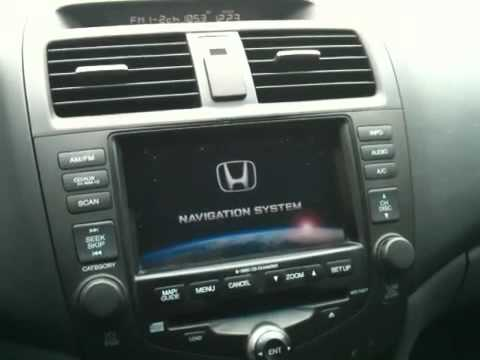 Honda Navigation System Stuck Youtube