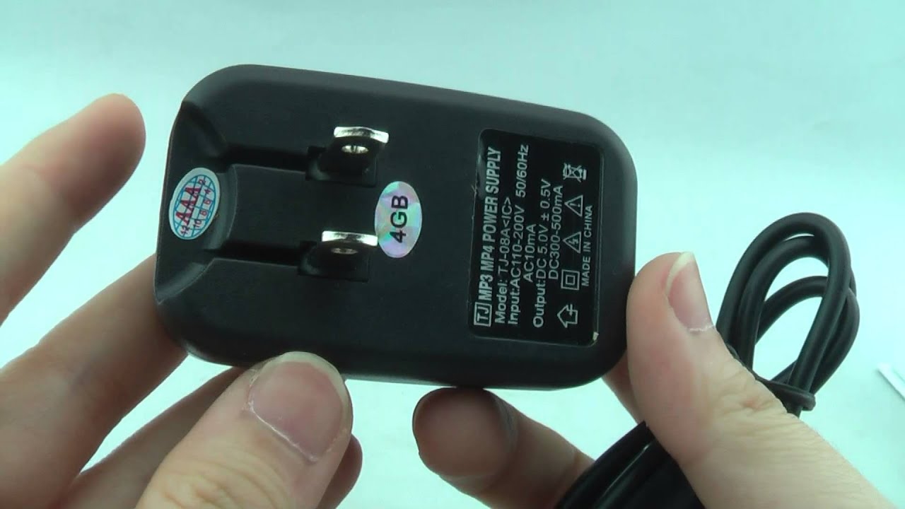 Mini Adaptor Charger Spy Camera Dvr With 720x480 Hidden